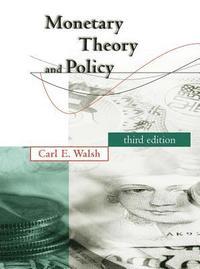 bokomslag Monetary Theory and Policy