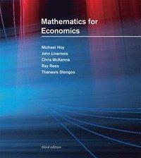 bokomslag Mathematics for Economics