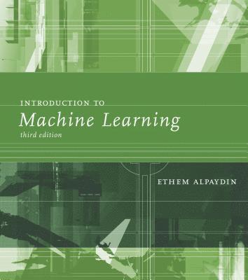 bokomslag Introduction to Machine Learning