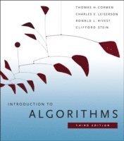 bokomslag Introduction to Algorithms