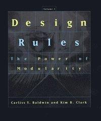 bokomslag Design Rules: Volume 1