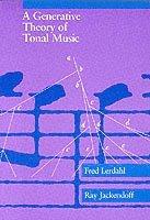 bokomslag A Generative Theory of Tonal Music