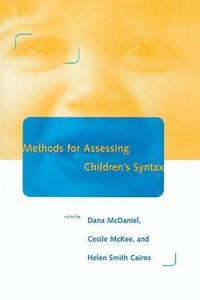 bokomslag Methods for Assessing Children's Syntax