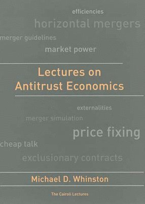 bokomslag Lectures on Antitrust Economics