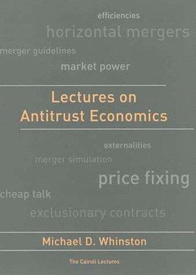 bokomslag Lectures on Antitrust Economics