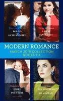 bokomslag Modern Romance Collection: March 2018 Books 1 - 4