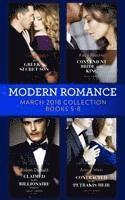 bokomslag Modern Romance Collection: March 2018 Books 5 - 8