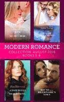bokomslag Modern Romance August 2018 Books 5-8 Collection