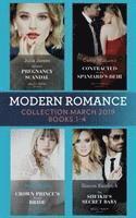 bokomslag Modern Romance March 2019 Books 1-4
