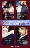 bokomslag Modern Romance May 2019: Books 5-8