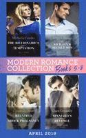 bokomslag Modern Romance April Books 5-8