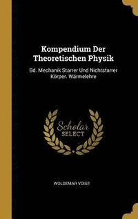 bokomslag Kompendium Der Theoretischen Physik