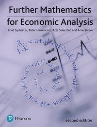 bokomslag Further Mathematics for Economic Analysis
