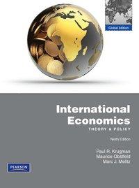 bokomslag International Economics with MyEconLab