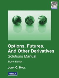 bokomslag Solutions Manual for Options, Futures & Other Derivatives