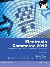 bokomslag Electronic Commerce 2012 Global Edition