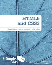 bokomslag HTML5 and CSS3 In Simple Steps