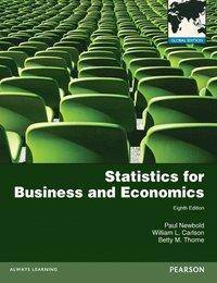 bokomslag Statistics for business and economics wi
