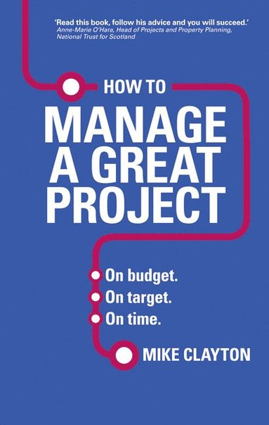 bokomslag How to manage a great project - on budget. on target. on time.