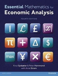 bokomslag Essential Mathematics for Economic Analysis with MyMathLab Global Access Card