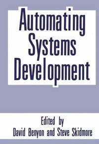 bokomslag Automating Systems Development