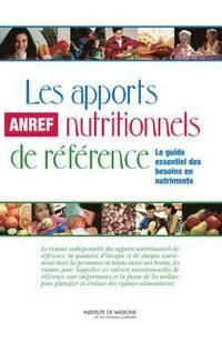 bokomslag Les apports nutritionnels de reference
