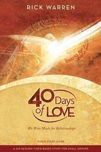bokomslag 40 Days of Love: Study Guide