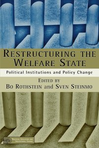 bokomslag Restructuring The Welfare State