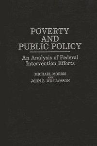 bokomslag Poverty and Public Policy