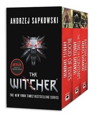 bokomslag The Witcher Boxed Set: Blood of Elves, the Time of Contempt, Baptism of Fire