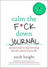 bokomslag Calm The F*Ck Down Journal