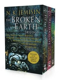 bokomslag The Broken Earth Trilogy: The Fifth Season, the Obelisk Gate, the Stone Sky