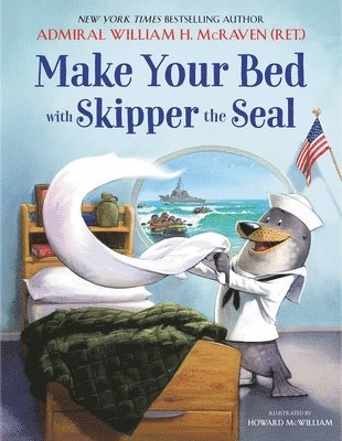 Make Your Bed with Skipper the Seal 1