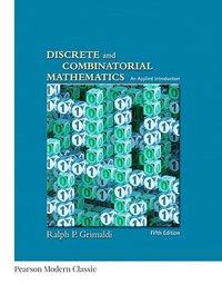 bokomslag Discrete and Combinatorial Mathematics (Classic Version)