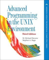 bokomslag Advanced Programming in the UNIX Environment