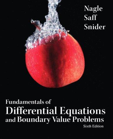 bokomslag Fundamentals of Differential Equations and Boundary Value Problems