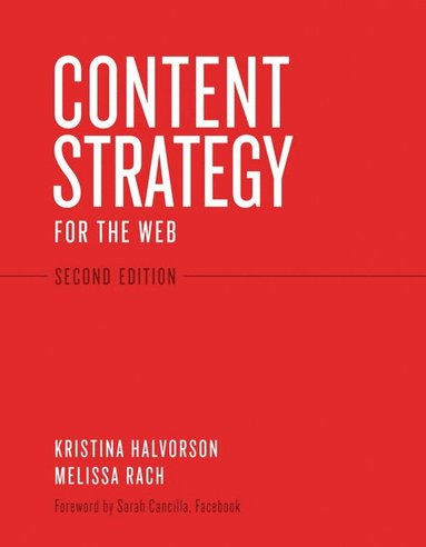 bokomslag Content Strategy for the Web