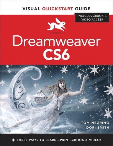 bokomslag Dreamweaver Cs6: Visual QuickStart Guide
