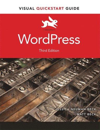 bokomslag WordPress with access code: Visual QuickStart Guide