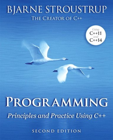 bokomslag Programming: Principles and Practice Using C++