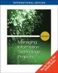 bokomslag Information Technology Project Management