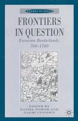 bokomslag Frontiers in Question