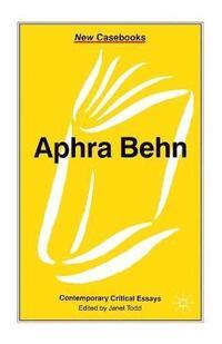 bokomslag Aphra Behn