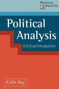 bokomslag Political Analysis: Contemporary Controversies