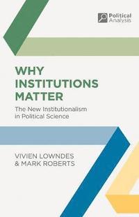 bokomslag Why Institutions Matter
