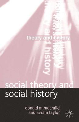 bokomslag Social Theory and Social History