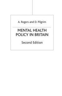 bokomslag Mental Health Policy in Britain