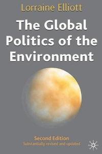 bokomslag The Global Politics of the Environment