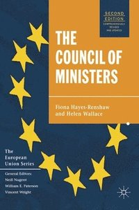 bokomslag The Council of Ministers