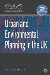 bokomslag Urban and Environmental Planning in the UK
